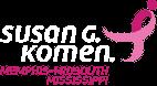 Susan G Komen Memphis MidSouth® Logo