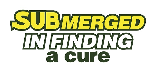 SUBMerged in Finding a Cure Logo